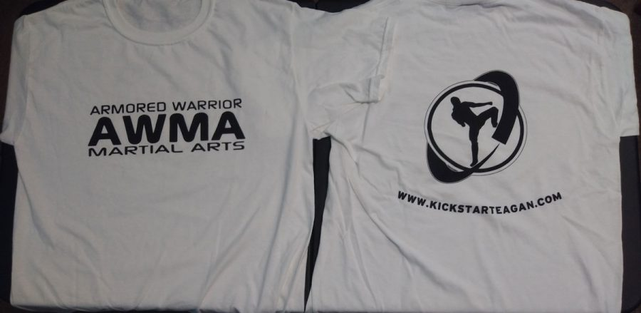 AWMA Front and Back T Shirt